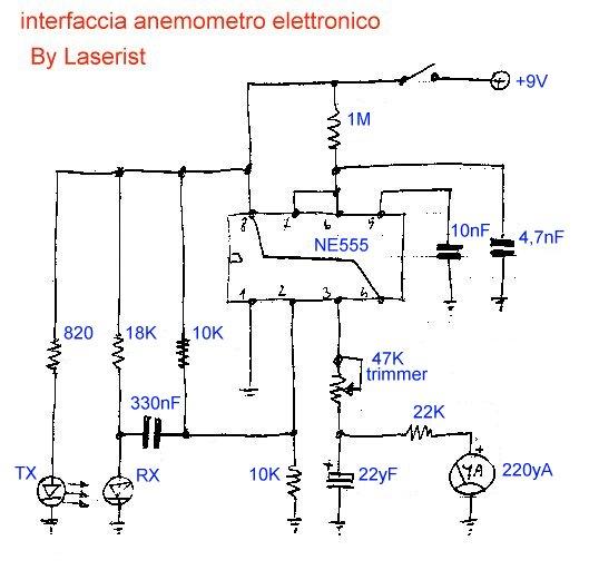 Schema Collegamento Encoder Incrementale : Lo schema elettrico dell interfaccia